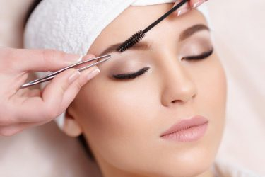 beauty eye treatment